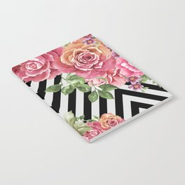 flowers geometric Notebook