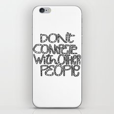 Compete With Yourself iPhone & iPod Skin