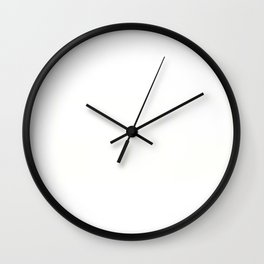 TIRED, Japanese Aesthetic Vaporwave Design Anti-social Print graphic Wall Clock