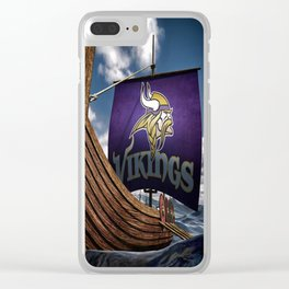 Viking Ship Clear iPhone Case