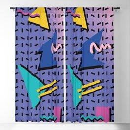 Memphis Pattern 9 - 90s - Retro Blackout Curtain