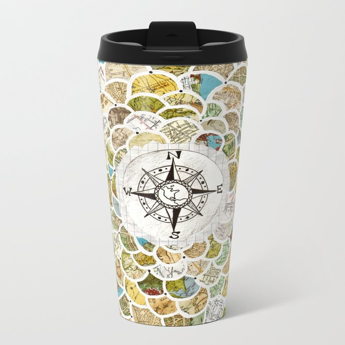Wanderbloom Metal Travel Mug