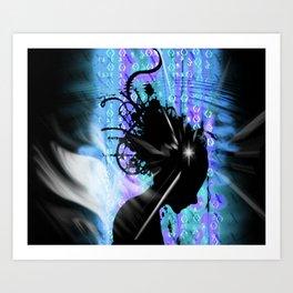 Source Codes Art Print