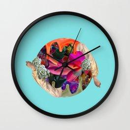 P003 - Echo - Dj Raff (By Constanza Aravena) Wall Clock