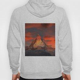 Mountain Matterhorn Switzerland Hoody