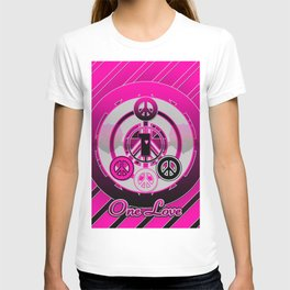 One Love (Pink) T-shirt