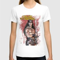 conan T-shirts featuring Crush your enemies by Lady Rat