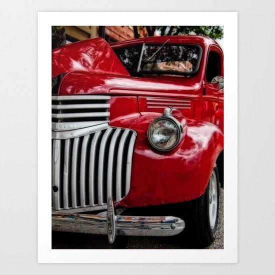 Vintage Truck 2 Art Print
