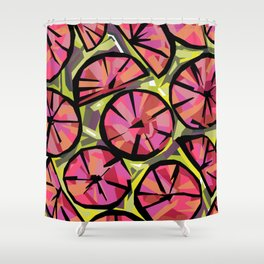 Candy Citrus Shower Curtain