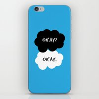 okay iPhone & iPod Skins featuring Okay by D-fens