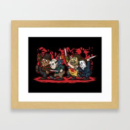 Where the Slashers Are (Full Color) Framed Art Print