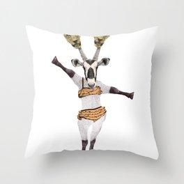 She wants revenge Throw Pillow