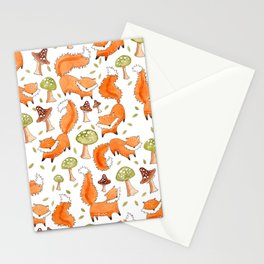 Little Foxes Stationery Cards