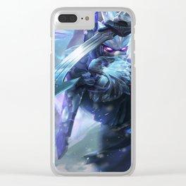 Frozen Shen League of Legends Clear iPhone Case
