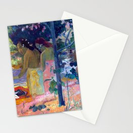 """Paul Gauguin """"Les Baigneuses"""" Stationery Cards"""