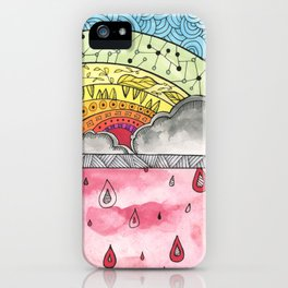 Pain Into Power iPhone Case
