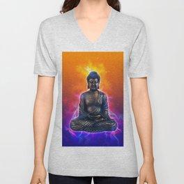 Buddha Art Unisex V-Neck