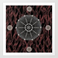 celtic Art Prints featuring Celtic Pattern by Pepita Selles
