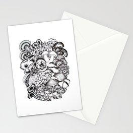 A Medley of Mushrooms Stationery Cards