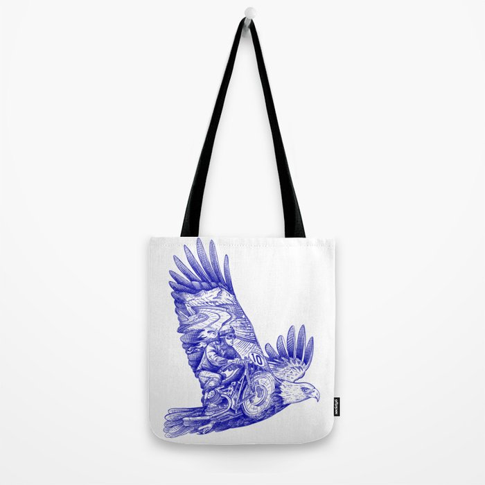 Eagle Rider Tote Bag