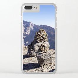 Jebel Shams Clear iPhone Case