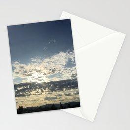 Paynes Gray Blue Sunrise Stationery Cards