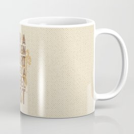 Golden Heart Coffee Mug