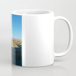 Landscape behind the frosted glass Coffee Mug