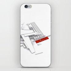 Malevich 3D [B&W] iPhone & iPod Skin