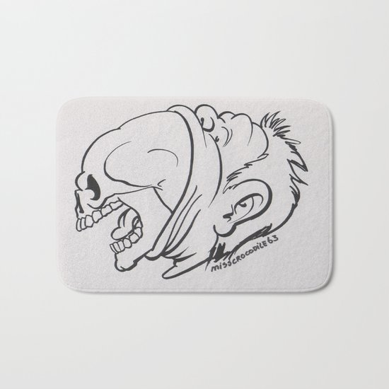 Skullicious( Breaking Out) Bath Mat