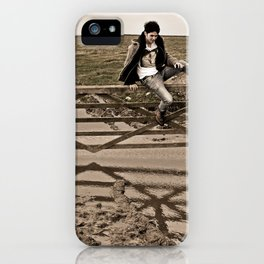 Up and Over iPhone Case
