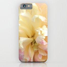 Landscape Peony iPhone Case
