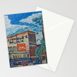 Downtown La Crosse, WI Stationery Cards