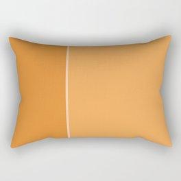 Orange Lines Rectangular Pillow