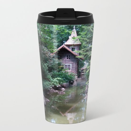 The Island of Tranquility Metal Travel Mug