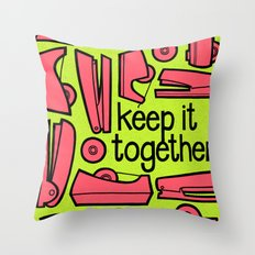 keep it together ii Throw Pillow