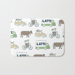 Winter Holidays Bath Mat
