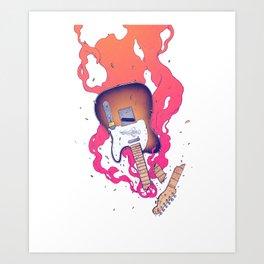 If it Bleeds it leads Art Print