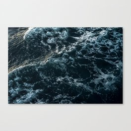 White Wash Canvas Print