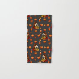 Pumpkin Spice Hand & Bath Towel