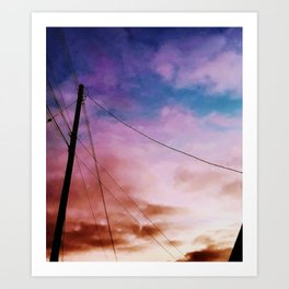 Hello Euphoria Art Print