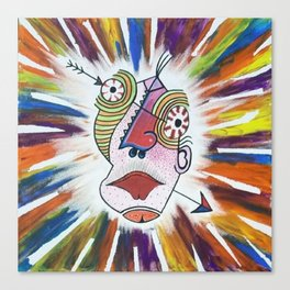 Feeling's Wide Open  Canvas Print
