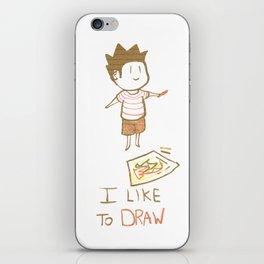 I like to DRAW iPhone Skin