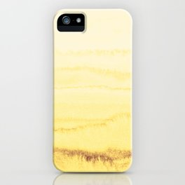 WITHIN THE TIDES - SUNNY YELLOW iPhone Case