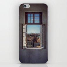 Window in Venice iPhone Skin
