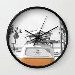 Surf Combi Venice Wall Clock