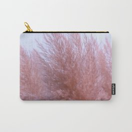 Pink Pampas Carry-All Pouch