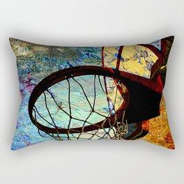 Basketball vs 71 Rectangular Pillow