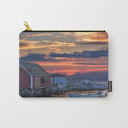 Last Light at Peggy's Cove Harbor Carry-All Pouch