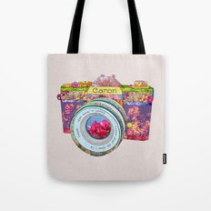 FLORAL CAN0N Tote Bag